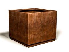 Fioriera quadrata in acciaio Corten™FLOWERBOX   Fioriera in acciaio Corten™ - ÉLUNAPIENA