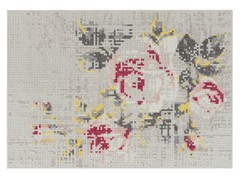 - Wool rug with floral pattern FLOWERS NATURAL | Rug - GAN By Gandia Blasco