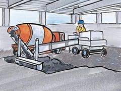 Agente di contrasto del ritiro, per calcestruzzo e malte FLUID SRA - ADMIX