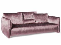 - 3 seater velvet sofa FLUON | Velvet sofa - Paolo Castelli