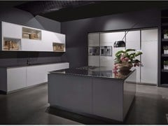 - Lacquered kitchen with island FLY | Kitchen with island - RIFRA