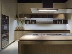 - Oak kitchen with island FLY | Oak kitchen - RIFRA