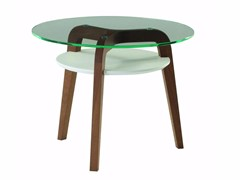 - Glass side table FLYING GLASS - ROCHE BOBOIS