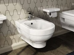 - Wall-hung ceramic bidet FOCUS | Wall-hung bidet - Hidra Ceramica