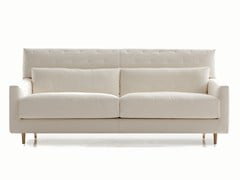 - Fabric sofa with headrest FOLK | High-back sofa - SANCAL
