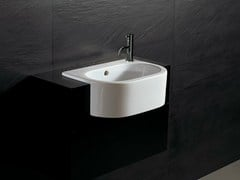 - Semi-inset ceramic washbasin FORM 46 | Semi-inset washbasin - Alice Ceramica