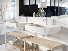 - Single ceramic washbasin FORM 80   Washbasin - Alice Ceramica