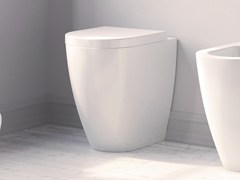 - Wall-hung ceramic toilet FORM H 50 | Toilet - Alice Ceramica