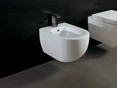 - Wall-hung ceramic bidet FORM | Wall-hung bidet - Alice Ceramica