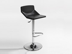 - Height-adjustable swivel stool with footrest FORMULA LIGH | Height-adjustable stool - AREA DECLIC
