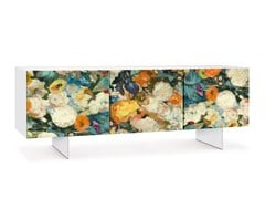 - Lacquered sideboard with doors FLORA | Sideboard - Oliver B.