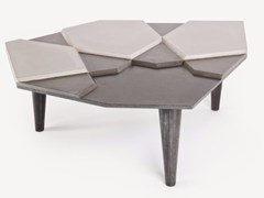 - Cement coffee table FRAGMENT BÉTON - MALHERBE EDITION