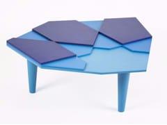 - Tavolino laccato in multistrato FRAGMENT - MALHERBE EDITION