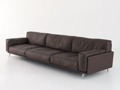 - Upholstered leather sofa FRAME | Sofa - arflex