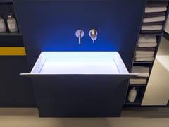 - Corian® washbasin FUORISTRAPPO - Antonio Lupi Design®