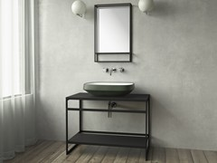 - Steel vanity unit FINE COUNTER - Sanwa Company