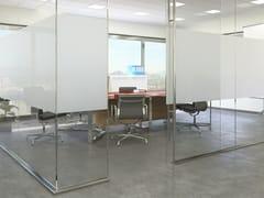 Pellicola per vetri adesiva decorativaG-02 OPACIZZANTE PLUS - ARTESIVE