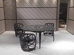 Tavolo rotondo in legnoGALILEO | Tavolo - CARPANELLI CONTEMPORARY