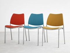 - Upholstered fabric chair GAS | Fabric chair - STUA