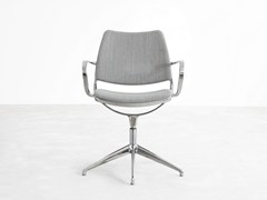 - Fabric task chair with 5-Spoke base with armrests GAS | Swivel task chair - STUA