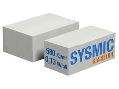 Blocco in cls cellulare per murature portanti antisismicheGASBETON® SYSMIC - BACCHI