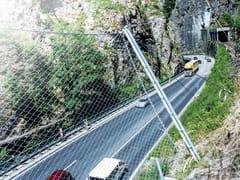 Rete di protezione paramassiGBE - GEOBRUGG ITALIA