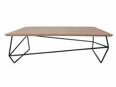Tavolino rettangolare in stile modernoGEMMA   Tavolino rettangolare - ALTINOX MINIMAL DESIGN