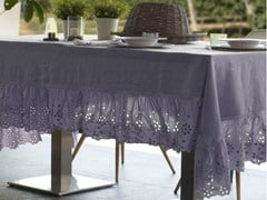 - Linen tablecloth GENZIANA | Tablecloth - LA FABBRICA DEL LINO by Bergianti & Pagliani