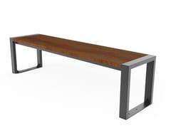 Panchina in legno senza schienaleGERLAND   Panchina senza schienale - CITY DESIGN