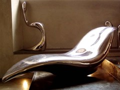 Chaise longue in fibra di vetroGHOST | Chaise longue - CEDRI/MARTINI DI CEDRI ELVIO RIENZO