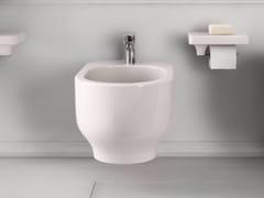 - Ceramic bidet GIÒ | Wall-hung bidet - Hidra Ceramica