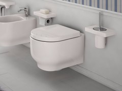 - Ceramic toilet GIÒ | Wall-hung toilet - Hidra Ceramica