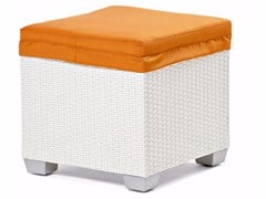 - Pouf with synthetic fiber weaving GIADA | Pouf - Varaschin