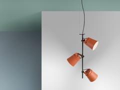 Lampada a sospensione a LED in alluminioGINZA - VERTICAL - ZERO
