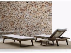 Lettino da giardino reclinabileGIO | Lettino da giardino - B&B ITALIA OUTDOOR, A BRAND OF B&B ITALIA SPA