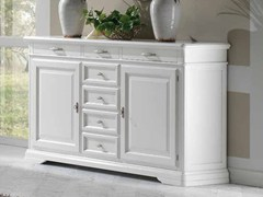 - Solid wood sideboard with doors GIOTTO | Lacquered sideboard - Arvestyle