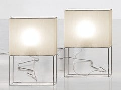 Lampada da tavolo in tessutoGIOVE - ADRIANI E ROSSI EDIZIONI