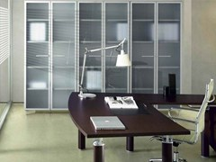 - Tall office storage unit with hinged doors GIOVE G609 - Arcadia Componibili - Gruppo Penta