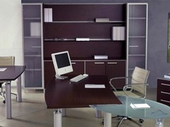 - Wooden office storage unit / office shelving GIOVE | Office shelving - Arcadia Componibili - Gruppo Penta