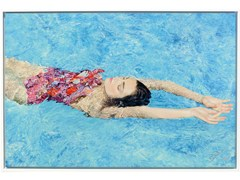 Stampa fotografica GIRL IN FLORAL SWIMSUIT - 99 LIMITED EDITIONS