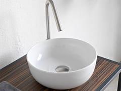 Lavabo da appoggio rotondo in ceramicaGLAM | Lavabo rotondo - SCARABEO CERAMICHE