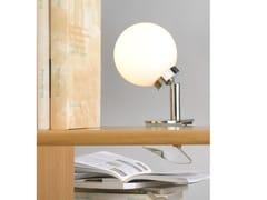 - Lampada da tavolo orientabile in vetro opale GLASSLIGHT SPRING - Top Light