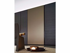 - Wardrobe with sliding doors GLISS QUICK GLASS DOOR - MOLTENI & C.
