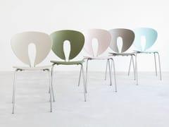 - Stackable polypropylene chair GLOBUS | Polypropylene chair - STUA