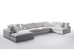 - Sectional fabric sofa with chaise longue GORDON | Sofa with chaise longue - Marac