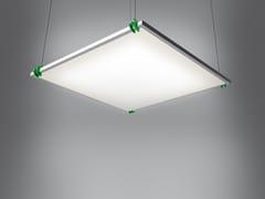 - Suspended modular panel light GRAFA STAND ALONE - Artemide
