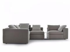 - Corner sectional fabric sofa GRAFO | Corner sofa - MDF Italia