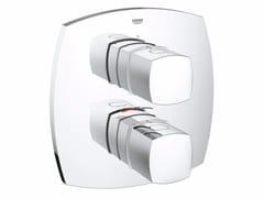 - Miscelatore termostatico per doccia con piastra GRANDERA™ | Miscelatore termostatico per doccia a 2 fori - Grohe