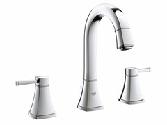 - 3 hole countertop washbasin tap with pop up waste GRANDERA™ SIZE M | Washbasin tap - Grohe