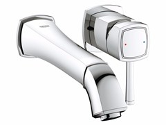 - 2 hole single handle washbasin mixer GRANDERA™ SIZE M | Wall-mounted washbasin mixer - Grohe